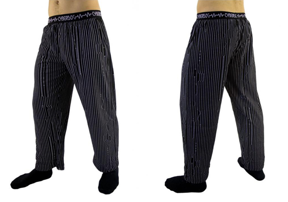 item of the week : mens pyjamas bottom by Cyberdog