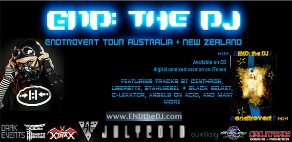 End: the DJ Australian tour