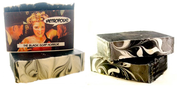 product review : the black soap horror – Metropolis Soap Co.