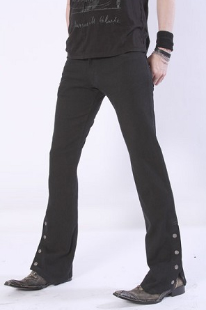 item of the week : denim spat pant by Serious Clothing