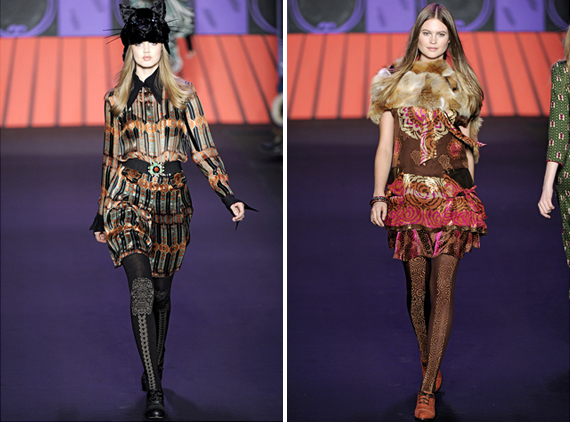new york fashion week : Anna Sui fall 2011
