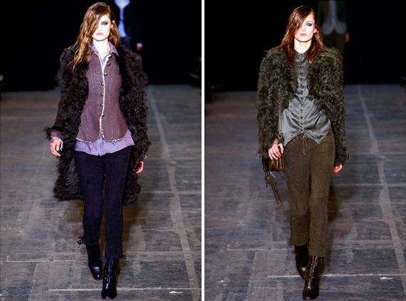 new york fashion week : Diesel Black Gold fall 2011