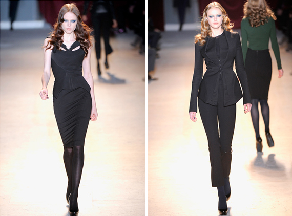 paris fashion week : Zac Posen fall 2011