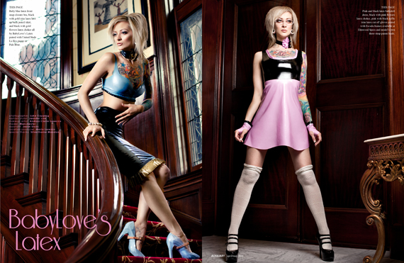 designer spotlight : BabyLove's Latex