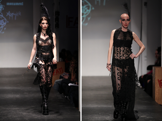 the runway at FAT 2011 : Asphyxia