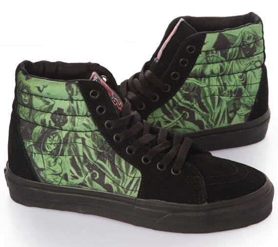 item of the week : Rob Zombie limited sk8 hi sneakers by Vans