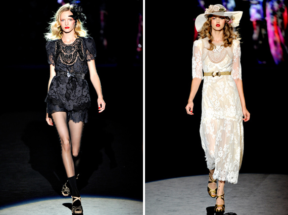 new york fashion week : Anna Sui spring 2012