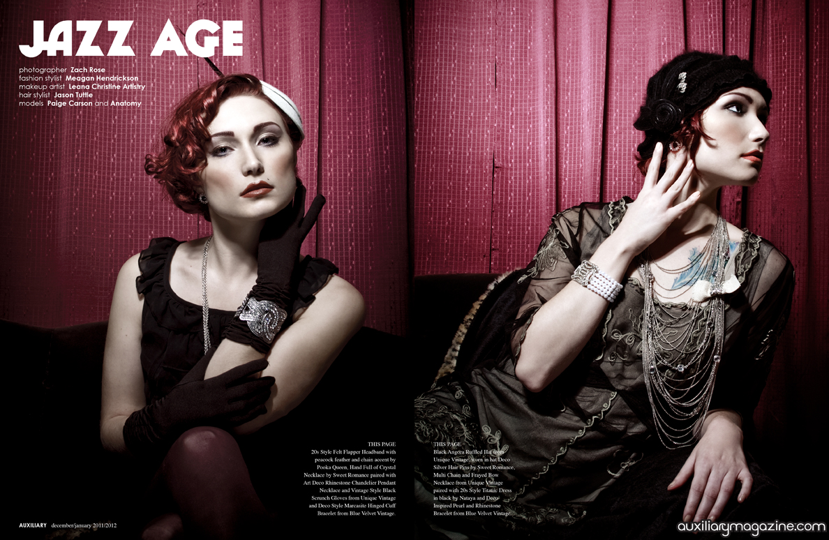 fashion editorial : jazz age