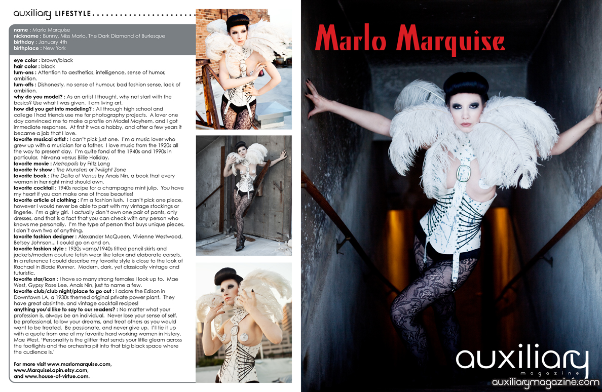 the PinUp : Marlo Marquise