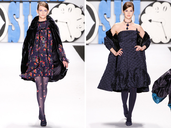 new york fashion week : Anna Sui fall 2012