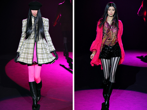 new york fashion week : Betsey Johnson fall 2012