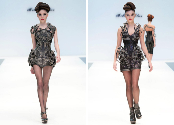 runway : Bibian Blue fall/winter 2012/13