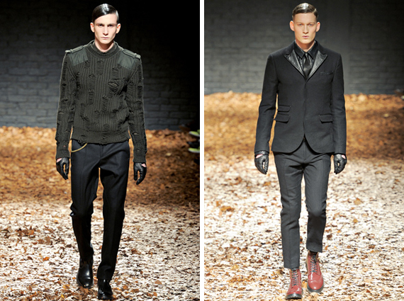london fashion week : McQ fall 2012