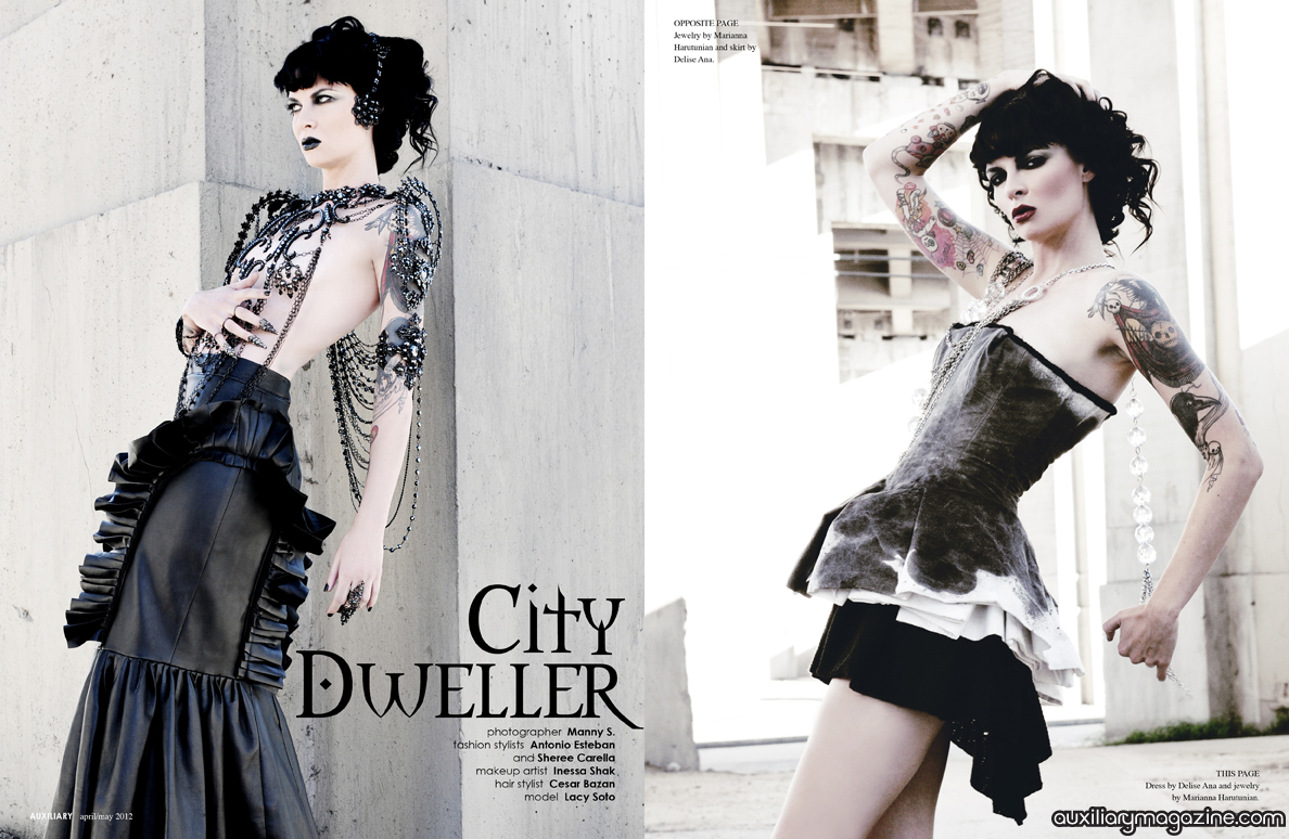 fashion editorial : City Dweller
