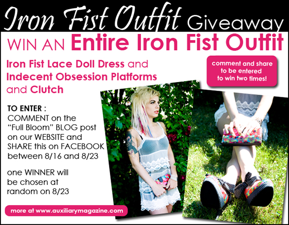 contest : Iron Fist Outfit Giveaway