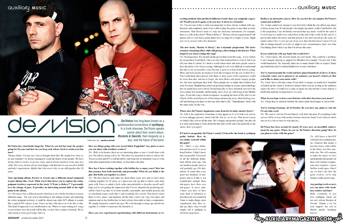 interview : De/vision