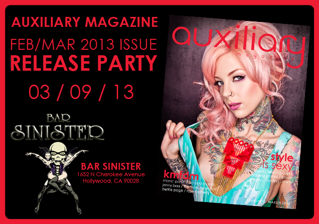 February/March 2013 Issue release party