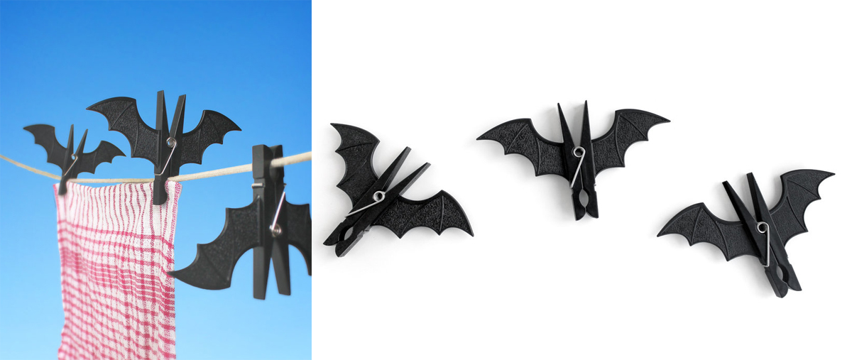 SuckUK Spooky Bat Pins