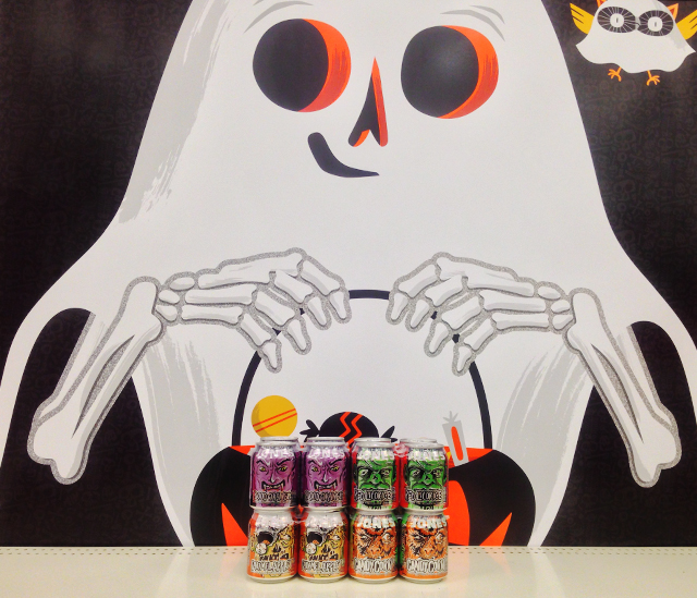 halloween find : Jones Soda Halloween Cans