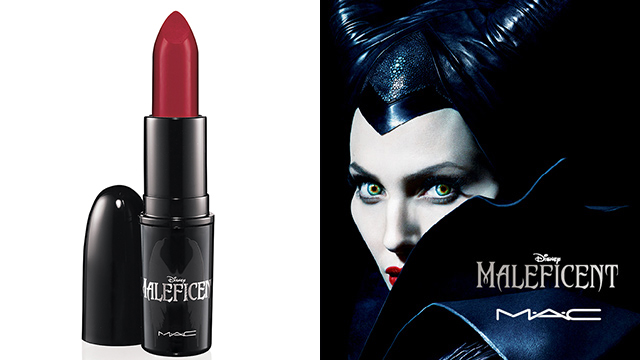 item of the week : Maleficent True Love's Kiss Lipstick by MAC Cosmetics