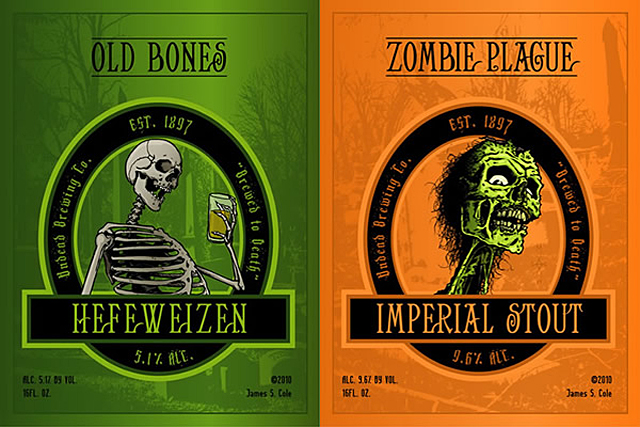 James S Cole Beer Labels