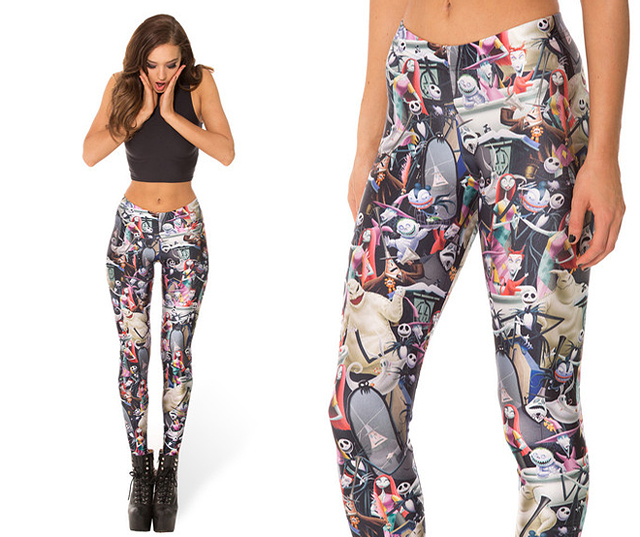 item of the week : Nightmare Before Christmas Leggings by Black Milk