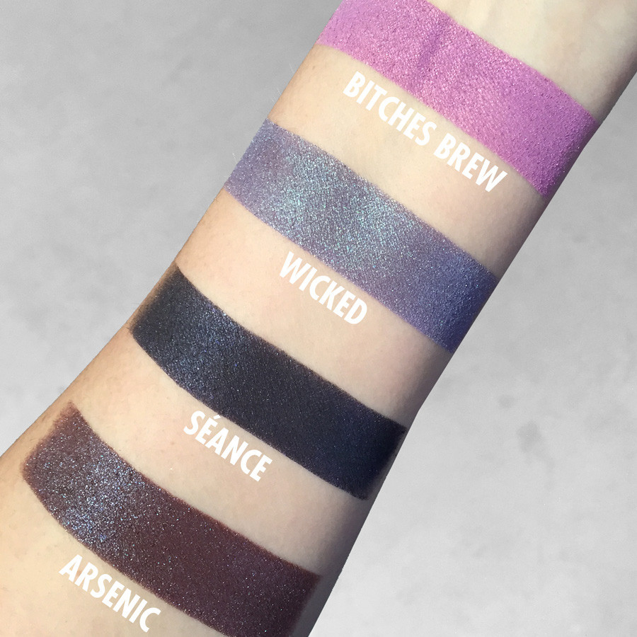 Black Magic Collection witchy eyeshadow by Concrete Minerals