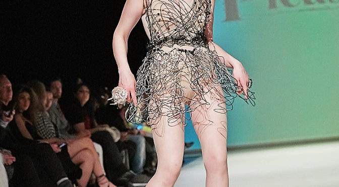 Amplify Apparel's theatrical 2016 runway show at FAT fashion week