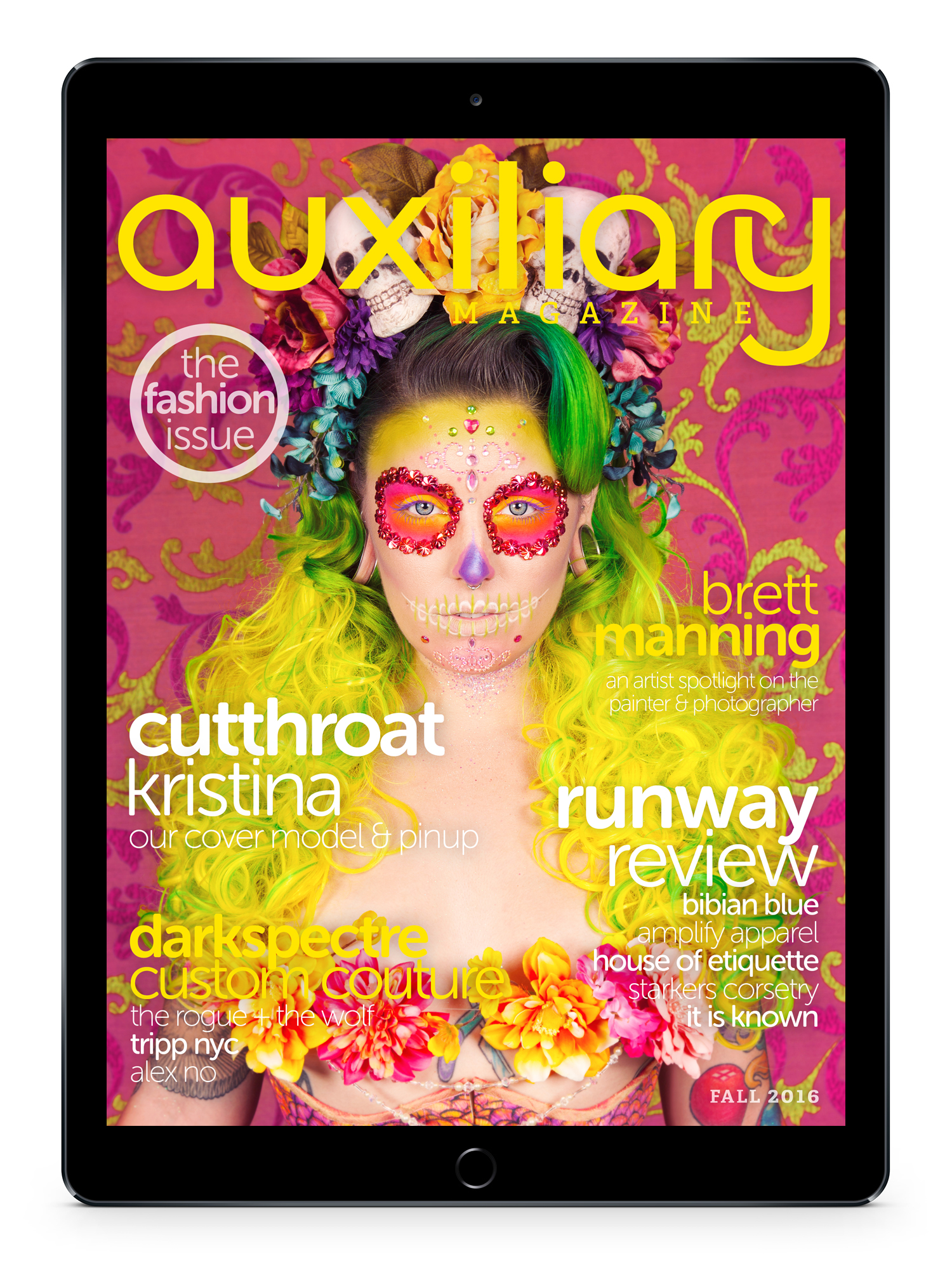 Fall 2016 Digital Issue of Auxiliary Magazine