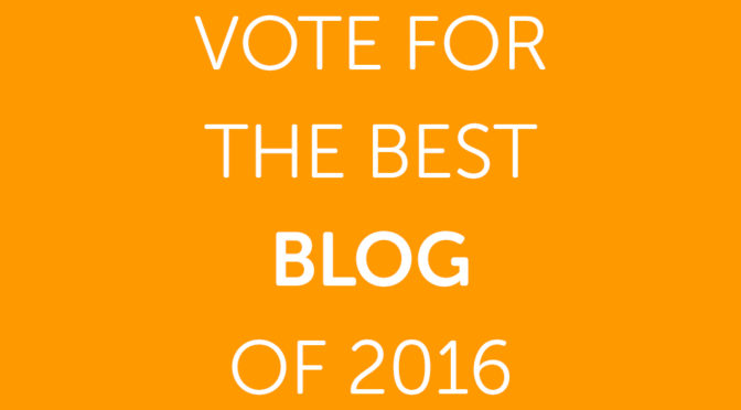 Vote for the Best Blog of 2016