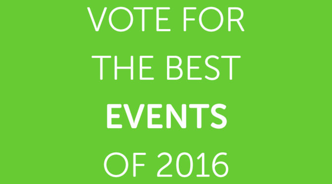 Vote for the Best Events of 2016