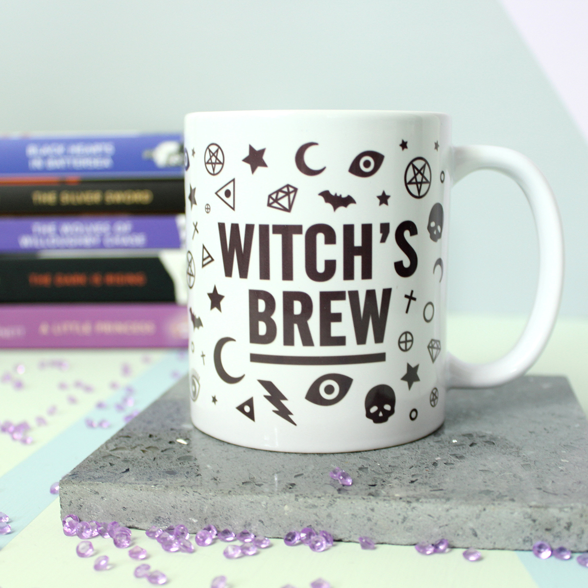 Auxiliary's Item of the Week witchy coffee mug The Witch's Brew Coffee Mug by Fable & Black