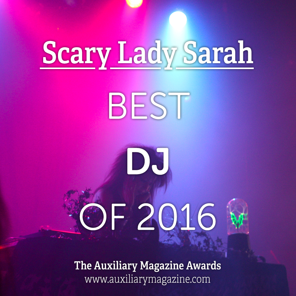 The Auxiliary Awards Best DJ of 2016 IAMX