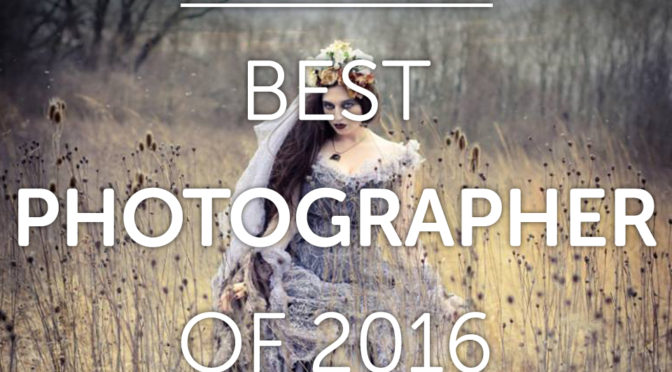 Laura Dark winner of Best Photographer of 2016