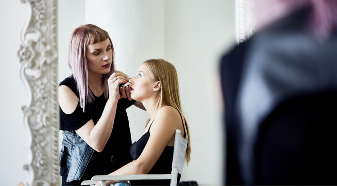 Behind the Scenes of our Fall 2017 Beauty Picks and Runway to Vanity Photoshoot