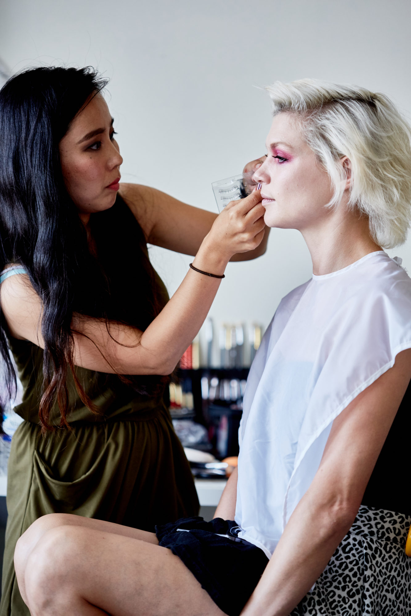 Auxiliary Magazine Behind the Scenes of our Fall 2017 Beauty Photoshoot