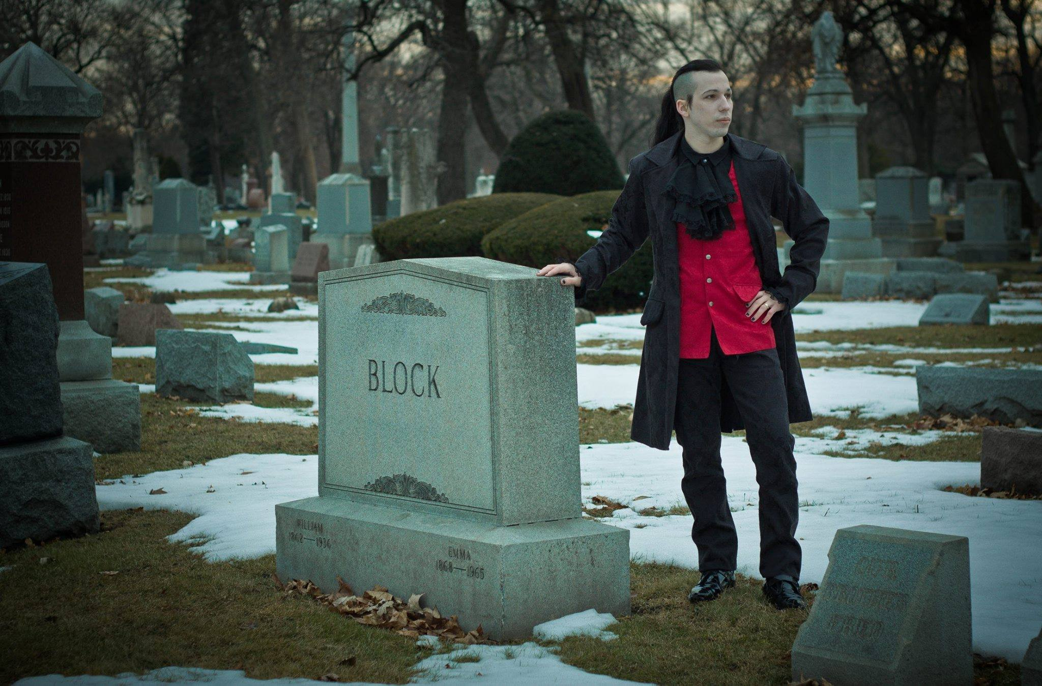 Auxiliary Magazine Cemetery Confessions podcast interview