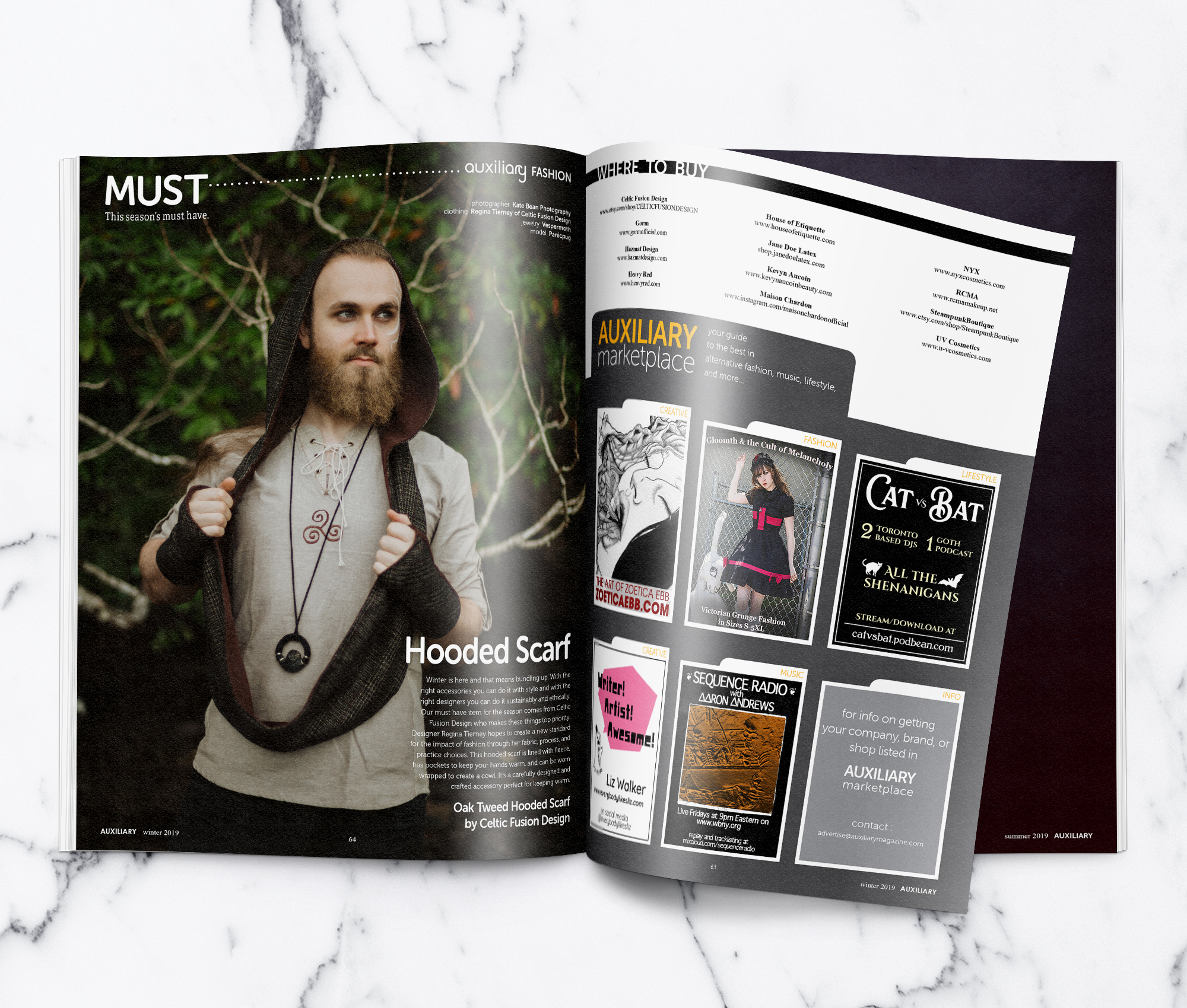 Auxiliary Magazine Winter 2019 Issue Must Spread