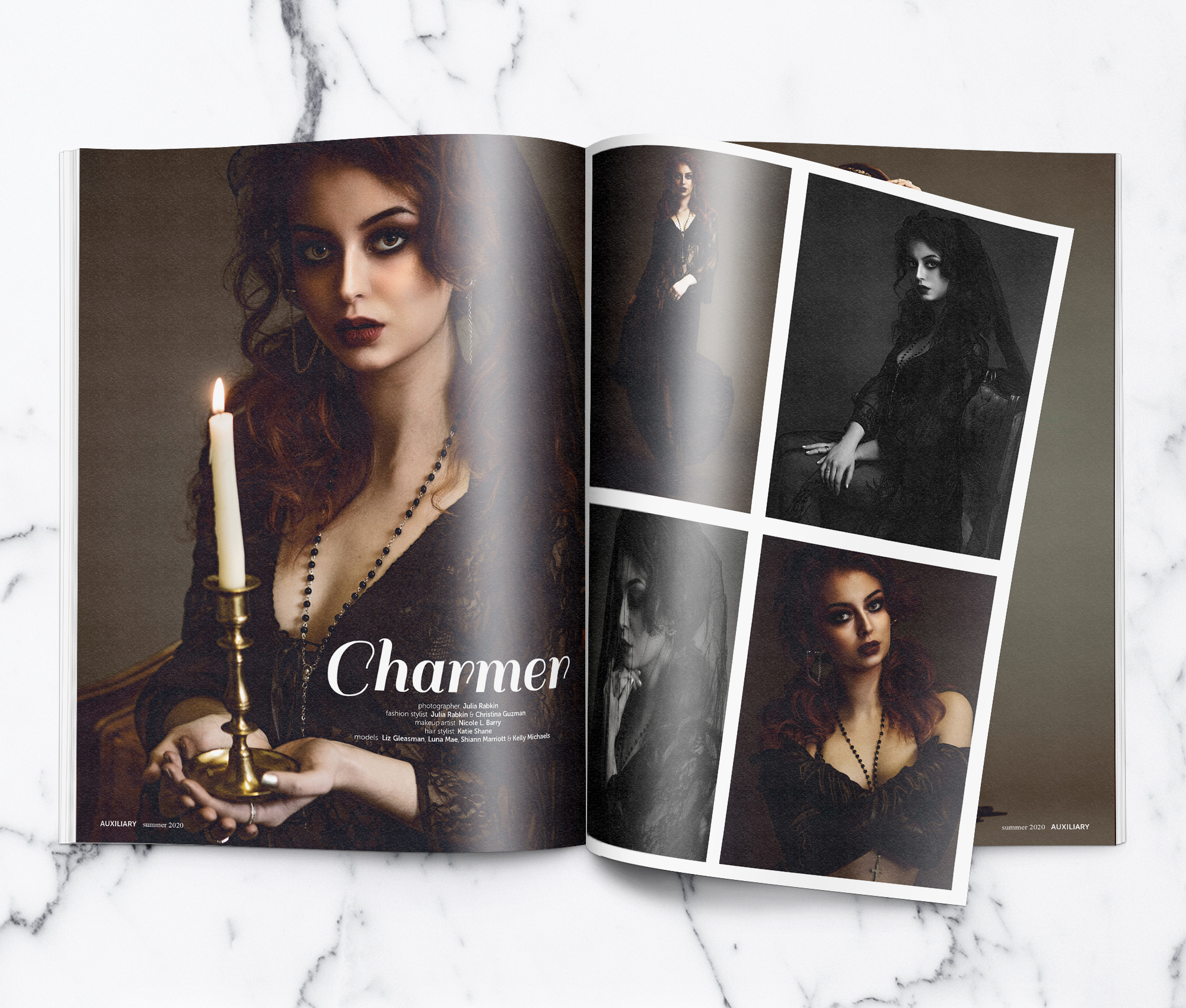 Charmer Fashion Editorial