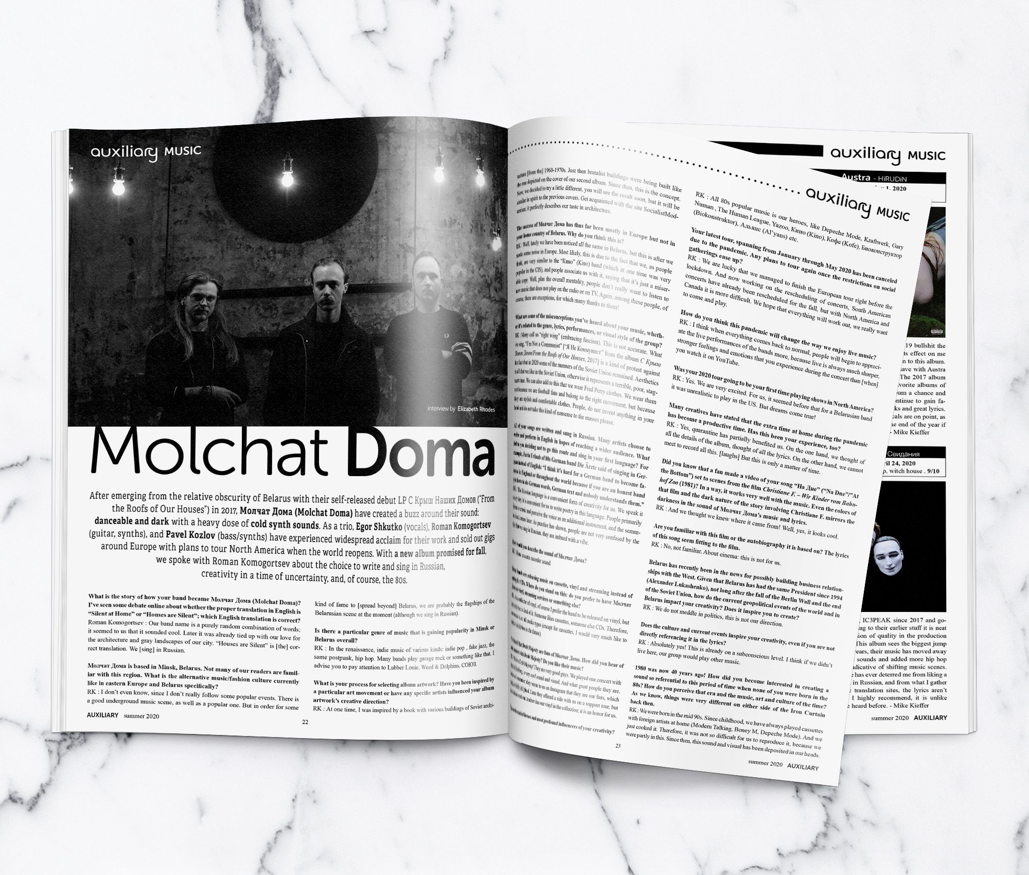 Molchat Doma Interview