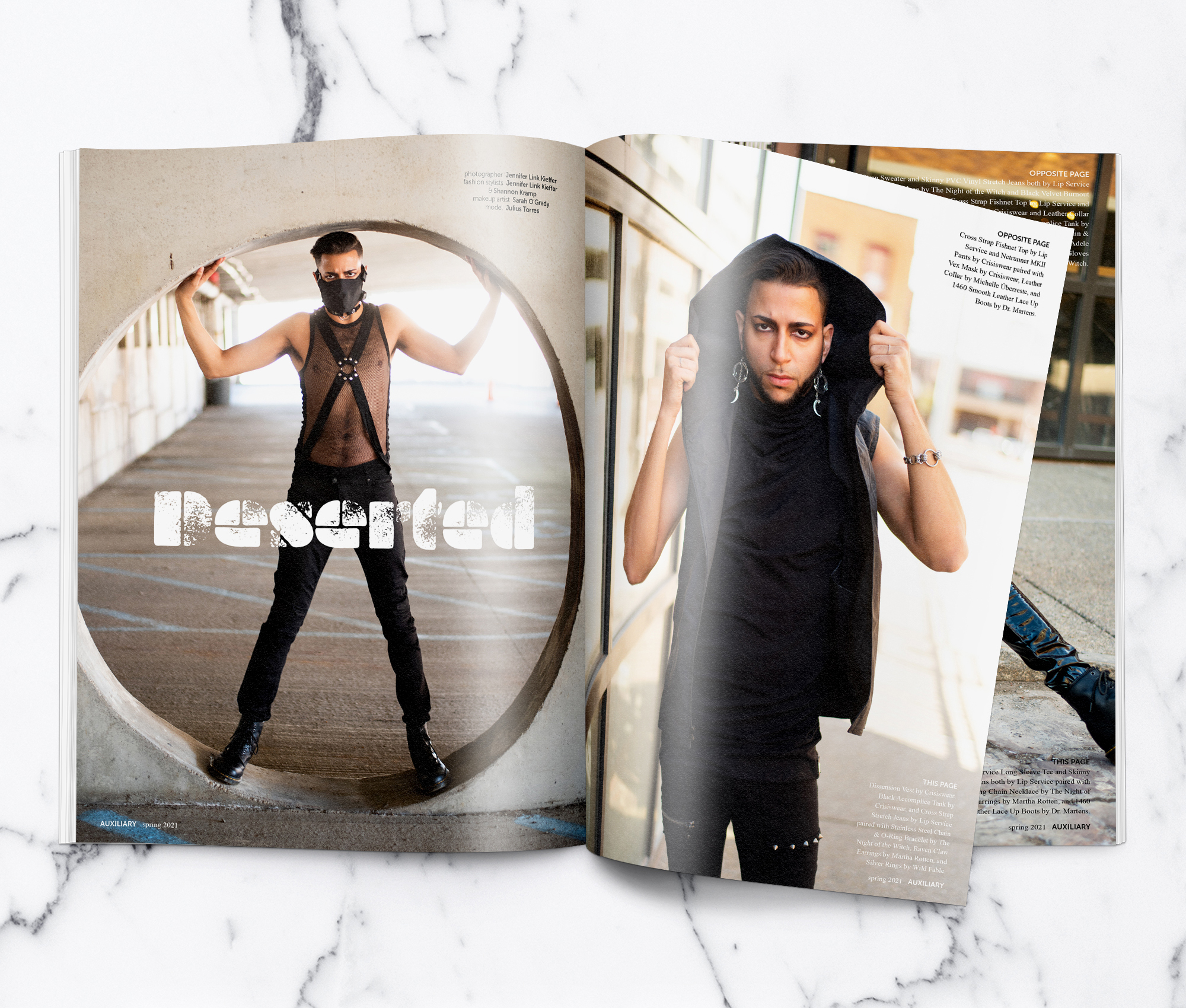 Auxiliary Magazine Spring 2021 Issue Deserted Teaser